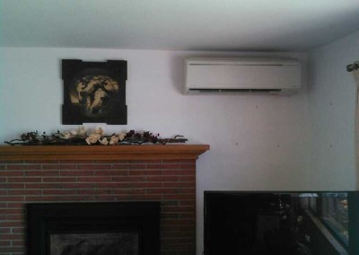 Ductless Heat Pump Project